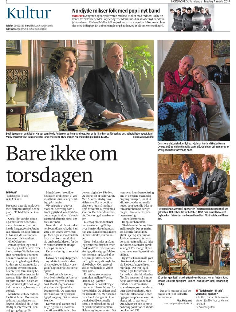 5e34074ea17 Nordjyske Stiftstidende - 07/03 2017